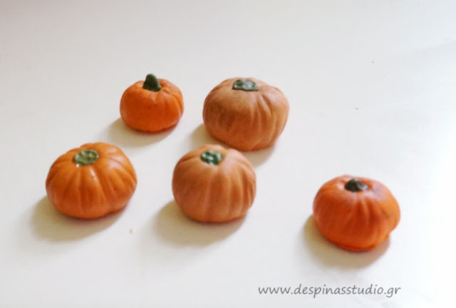 Polymer clay tutorial : Pumpkin