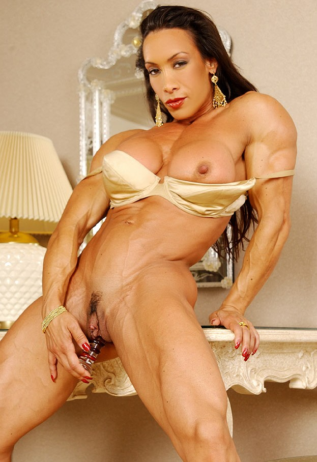 Muscled Denise Masino Fucked By Man