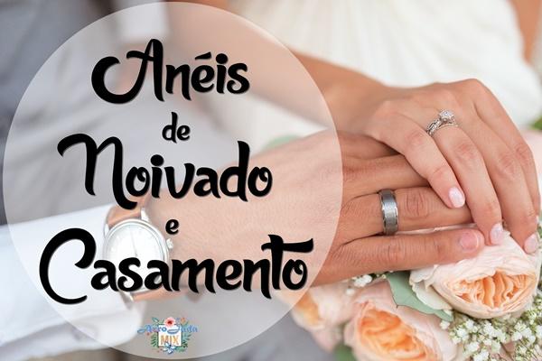 Anéis de Noivado e de Casamento de Moissanite