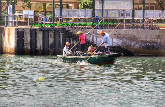 Janitors, Sau Kung Pier, Sai Kun Country Park, Hong Kong