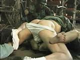 Tawanan Diperkosa Bergiliran Dalam Gubuk Oleh Tentara  Video Bokep Tawanan Diperkosa Bergiliran Dalam Gubuk Oleh Tentara