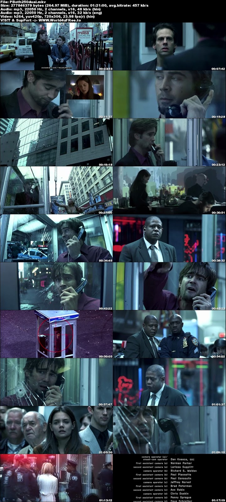 Phone Booth 2002 Dual Audio BRRip 480p 250Mb x264 world4ufree.best hollywood movie Phone Booth 2002 hindi dubbed dual audio 480p brrip bluray compressed small size 300mb free download or watch online at world4ufree.best