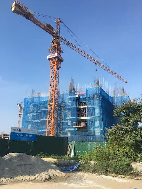 Cập nhật tiến độ xây dựng dự án The Link 345 Ciputra
