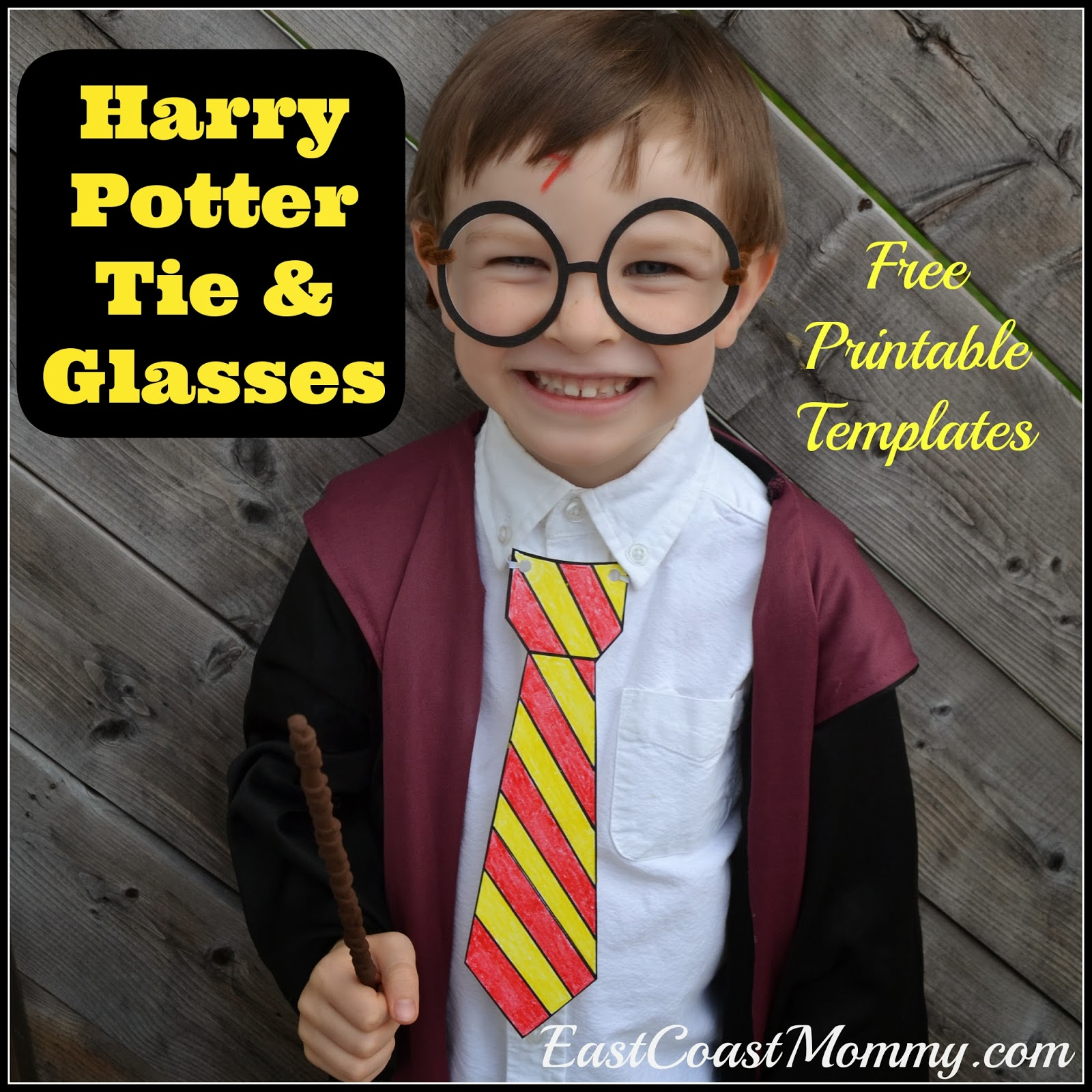 photo about Harry Potter Glasses Printable identified as East Coastline Mommy: Harry Potter Gles and Ties with absolutely free