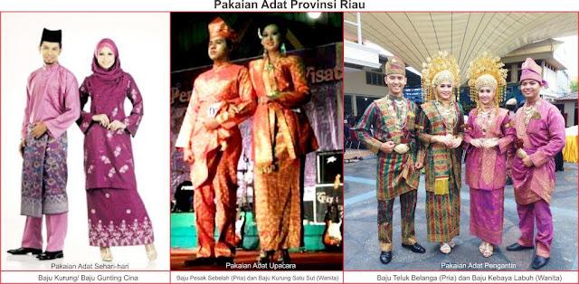 baju adat Riau
