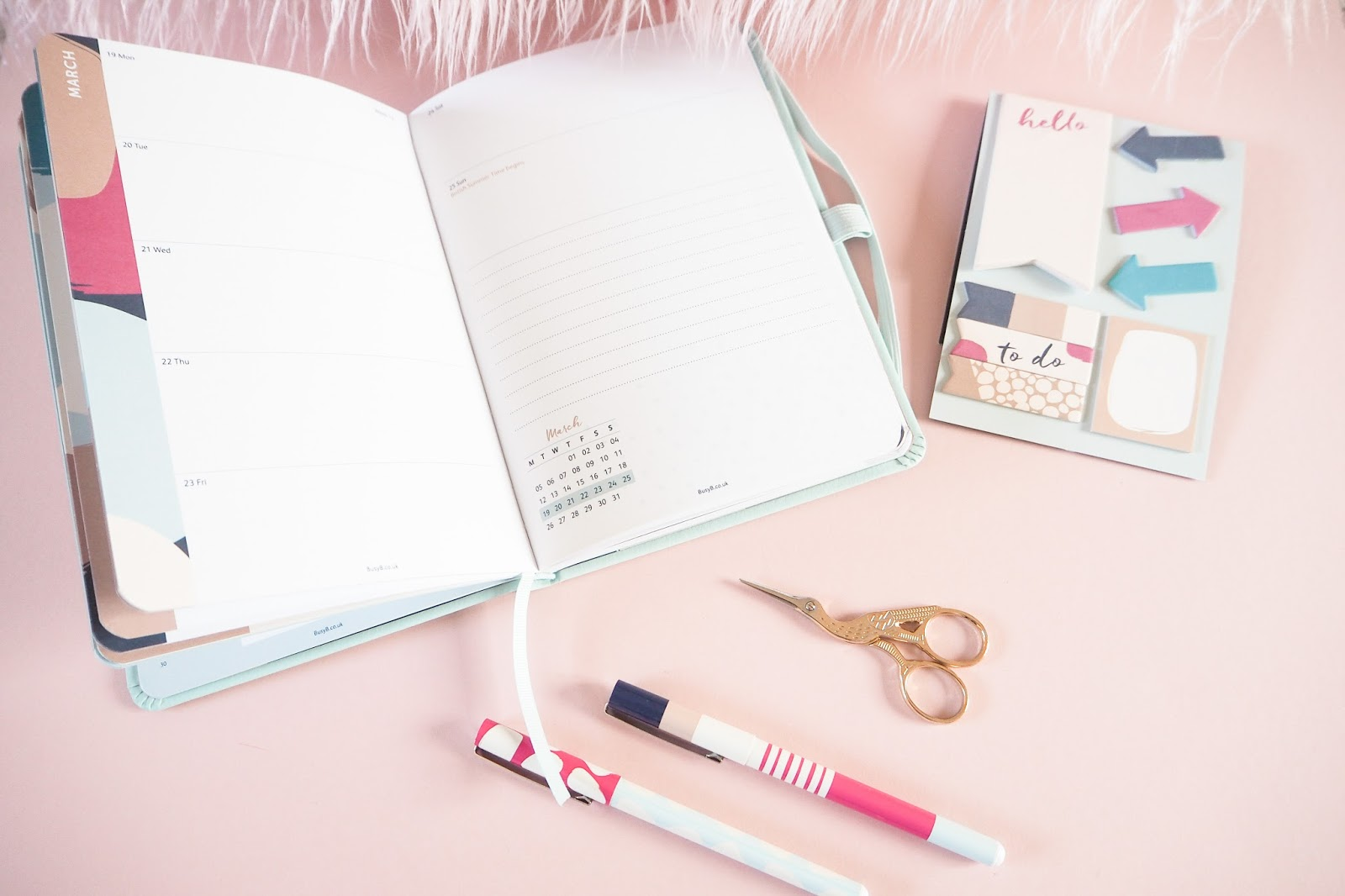 Busy B 2018 Perfect Planner Review - Week to View