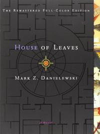 Portada americana de La casa de hojas, de Mark Z. Danielewski