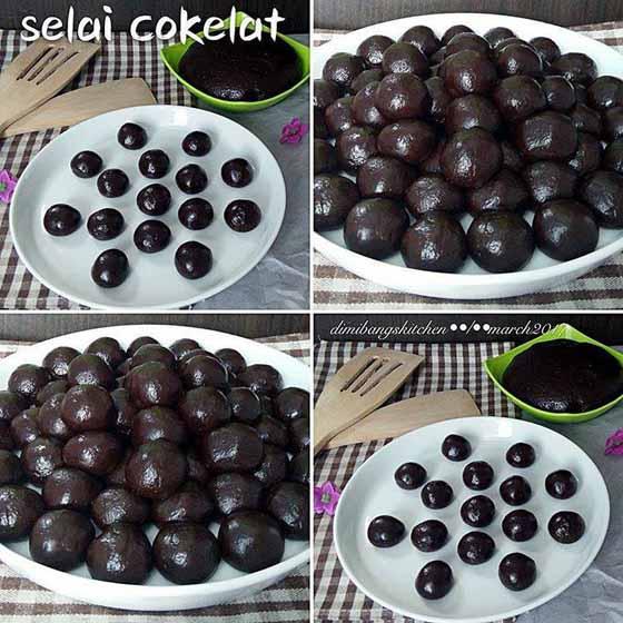 Rahasia Bikin Selai Cokelat. Bisa Buat Isian Apa Saja, Rencananya Aku Mau Bikin Nastar Isi Cokelat Pasti Yummy
