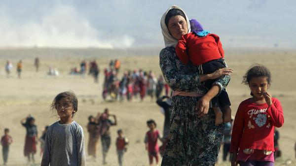 كالتشر-عربية-نازحون-من-سنجار-بعد-سيطرة-داعش-عليها
