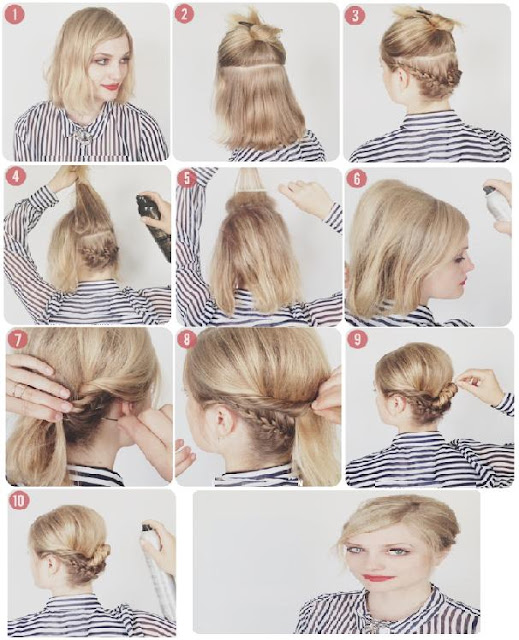 Coiffure Facile A Faire Cheveux Court Ivory Hairstyle