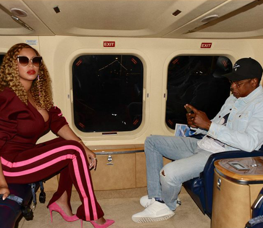 Beyonce share stylish photos with Jay Z