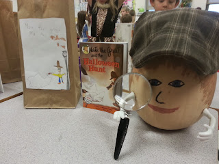 Pumpkin Book Reports- Nate the Great