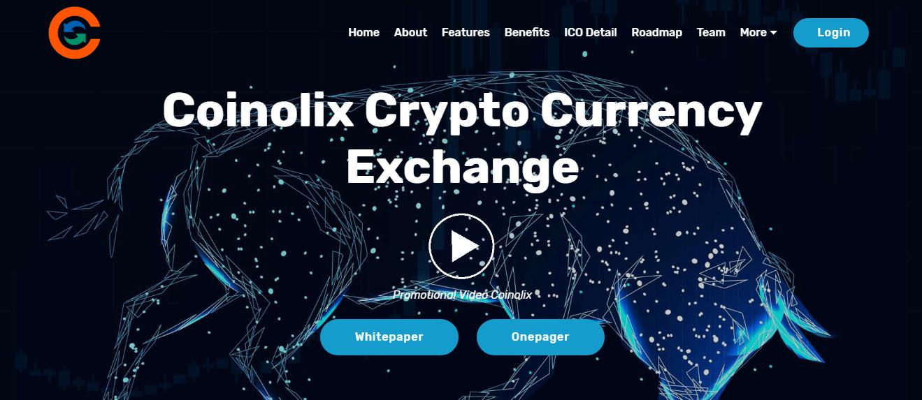 Kết quả hình ảnh cho COINOLIX EXCHANGE ICO review