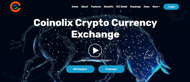 Coinolix CLX token review- Coinolix Cryptocurrency Exchange