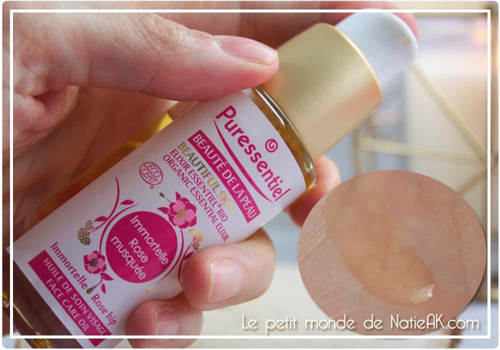 huile végétale anti relâchement visage