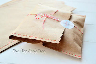 Etsy Packaging Idea, Over The Apple Tree