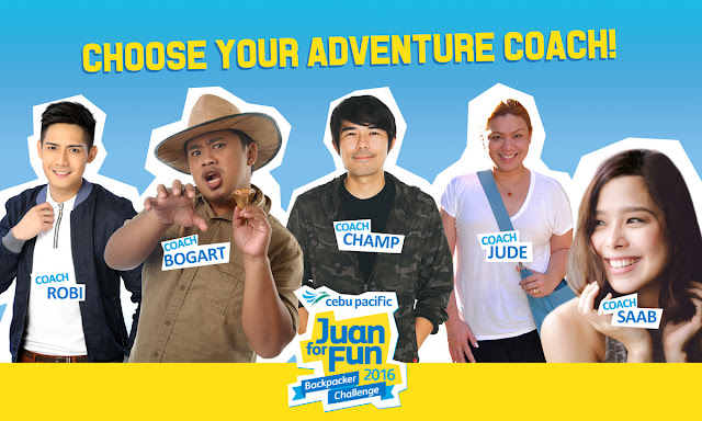 Celebrity travelers dish expert tips for Cebu Pacific Juan for Fun backpackers