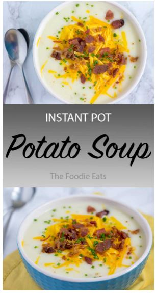 Pressure Cooker Potato Soup
