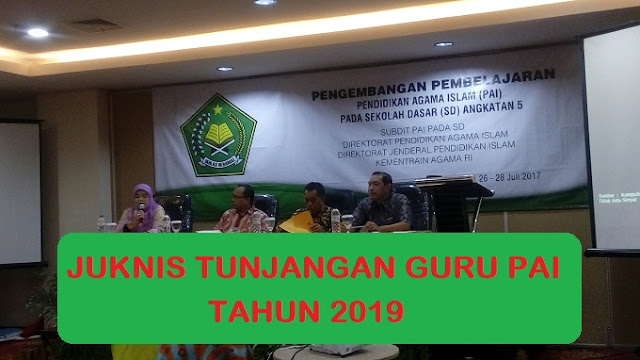 Baca Juknis TPG PAI 2019