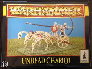Warhammer Undead Chariot
