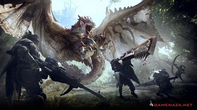 Monster Hunter World Gameplay Screenshot 2