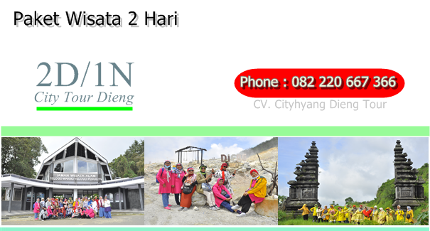 City Tour Dieng