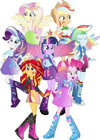 My Little Pony Equestria Grils
