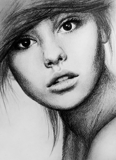 Pencil Sketch of Women | ZiZinG
