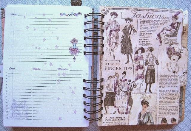 scrap-agenda A Ladies Diary - Graphic45