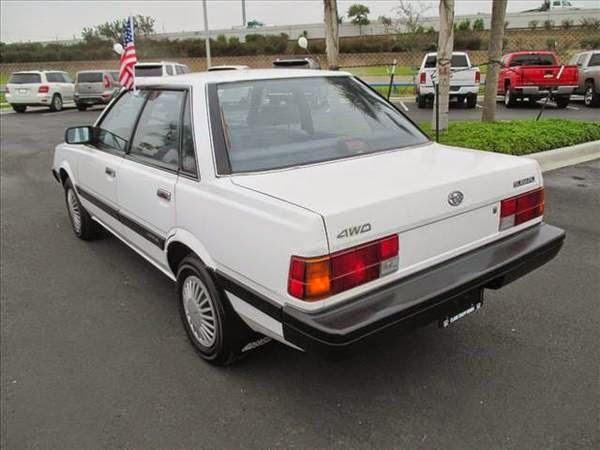 1992 Subaru Loyale 4wd Sedan Auto Restorationice