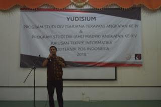 YUDISIUM 1 D3 & D4 Teknik Informatika  Politeknik Pos Indonesia