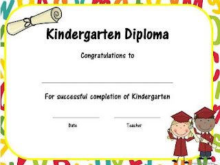 Preschool graduation diplomas pasoevolist preschool graduation diplomas yadclub Image collections