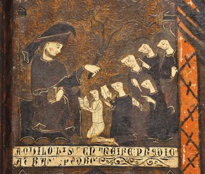 flagelacion azote latigo medieval retablo maestro escuela castigo corporal