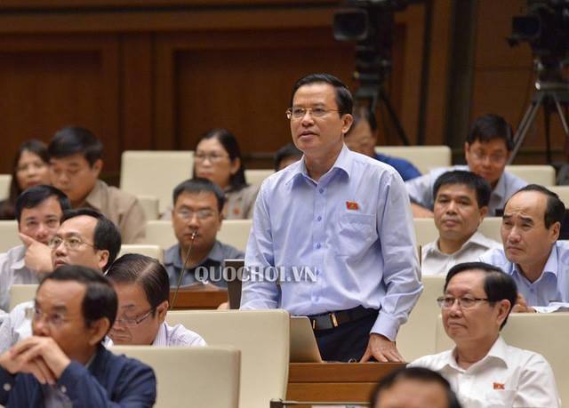 Đại biểu Quốc hội Nguyễn Văn Pha