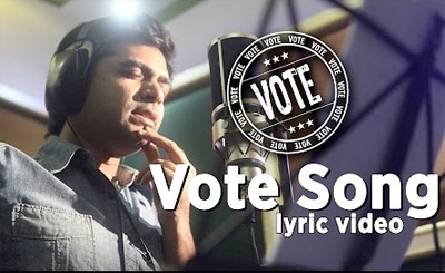 Vote Song – Official Lyric Video – STR | STR, VTV Ganesh