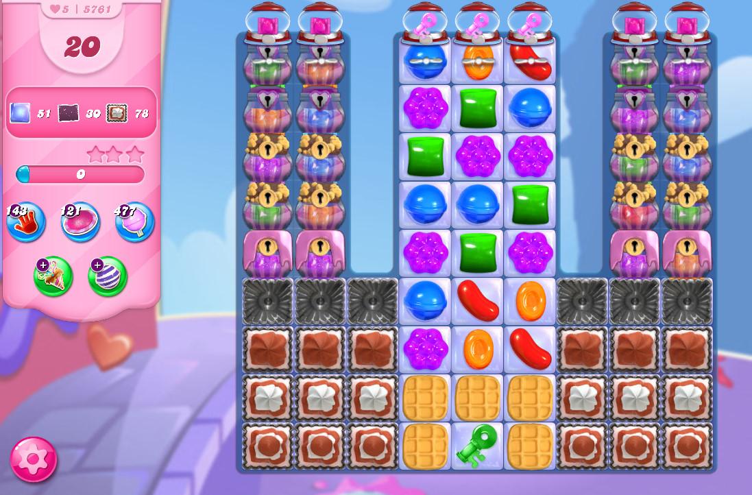 Candy Crush Saga level 5761