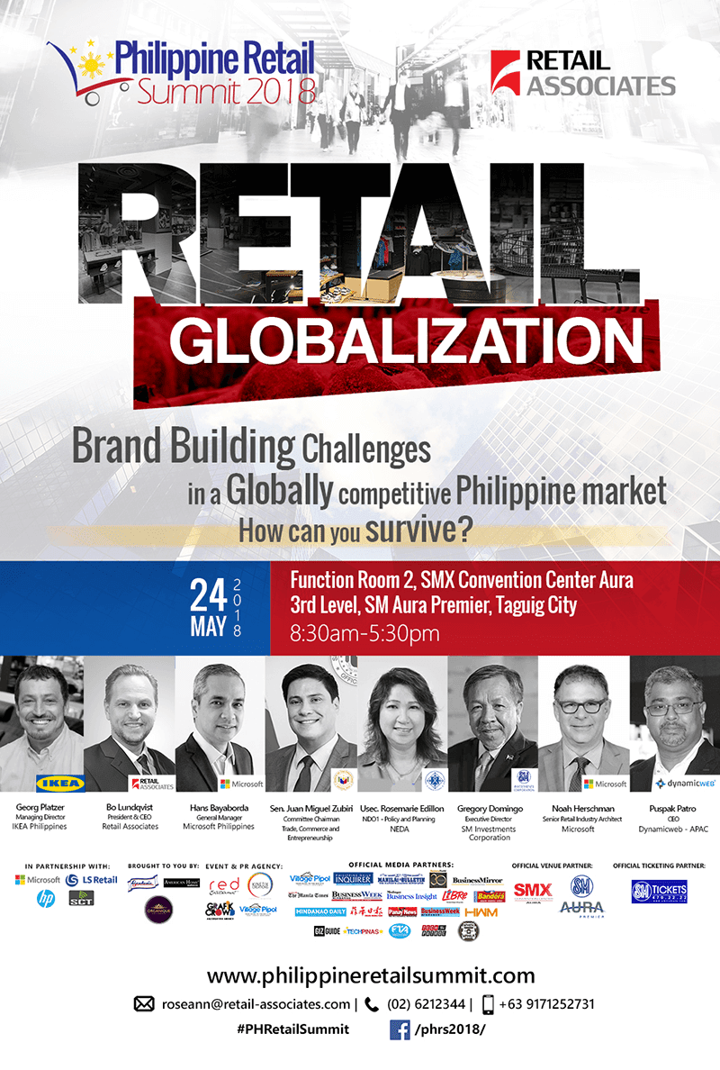 Philippine Retail Summit to help in building globally competitive local market