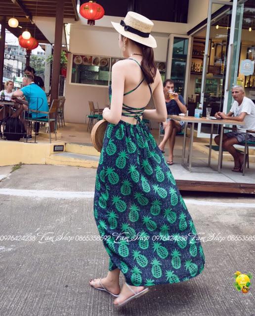 Cua hang ban vay maxi di bien tai Phu Thuong