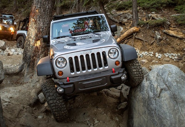 Jeep Wrangler Rubicon Edition Front