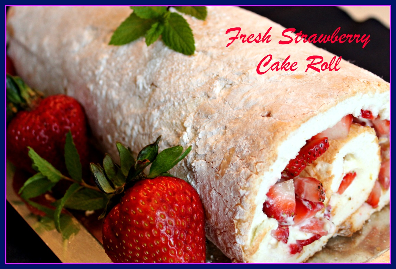 Angel Food Cake In Jelly Roll Pan