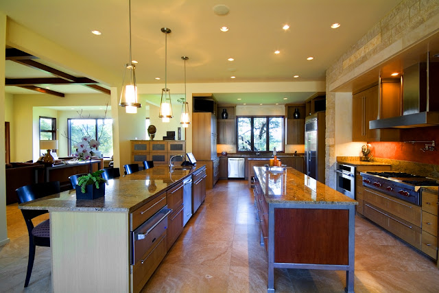 Picture of modern kitchen interiors