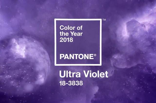 M3T - Cor do Ano 2018 - Ultra Violet da Pantone