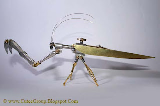 Arthrobots  Steam Punk Insects