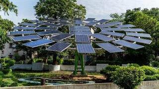 World's Largest Solar Tree: By CSIR-CMERI