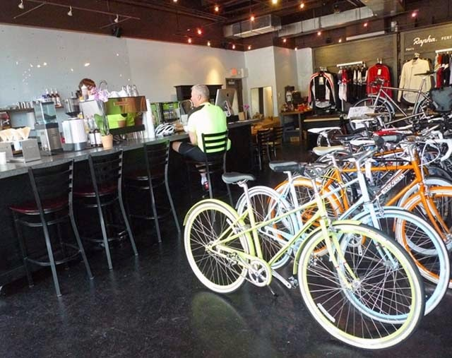 bicycle shop design photos