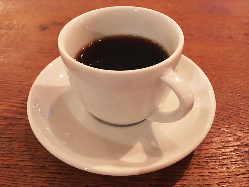四谷MOON mica takahashi COFFEE SALONのコーヒー月の森の雪