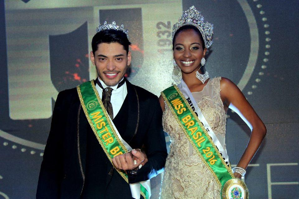 Mayrane Barbosa e Willian Herculano, Miss e Mister Brasil 2016. Foto: Salani Antônio