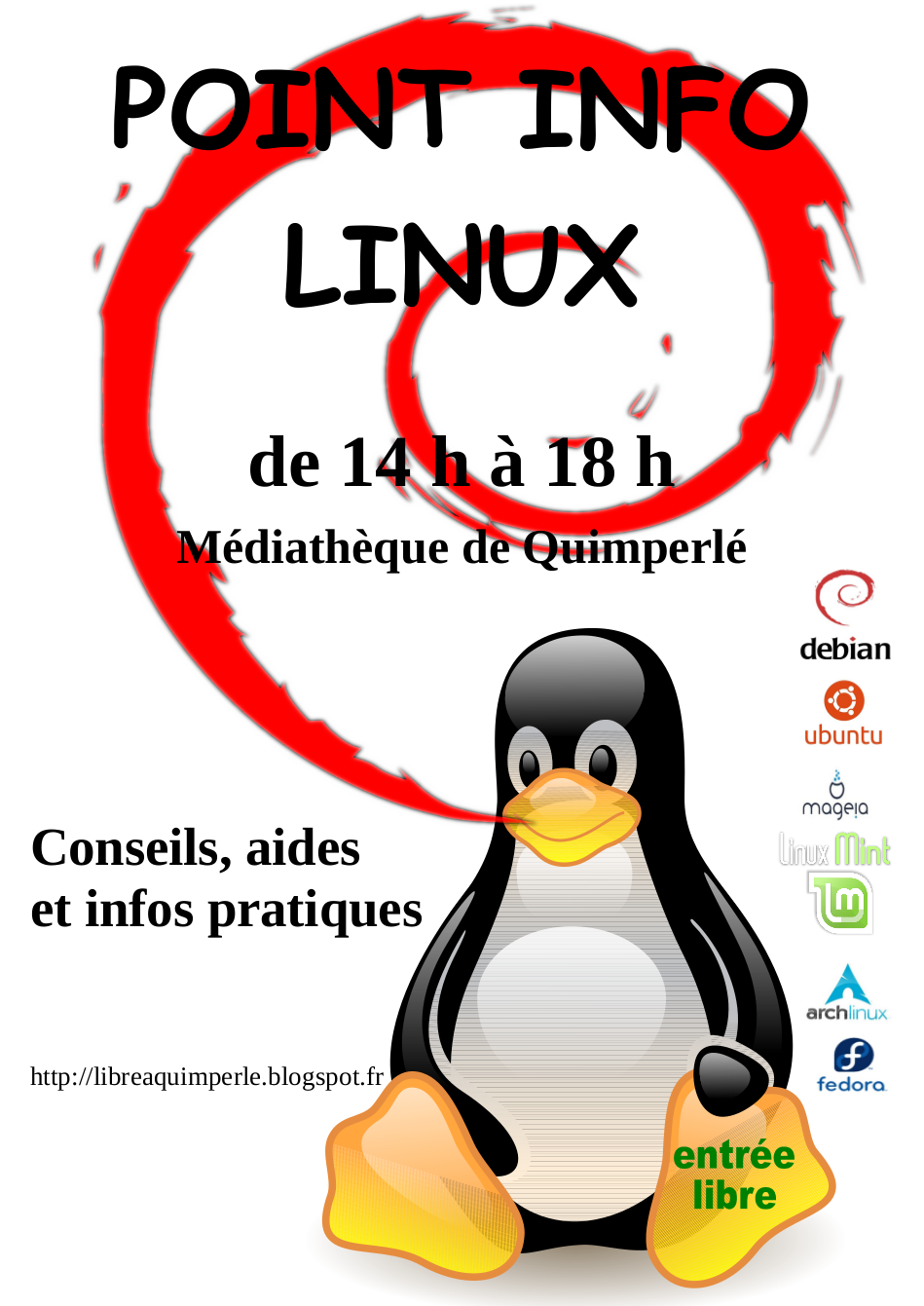 Point info Linux