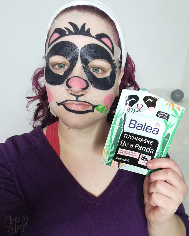 BALEA Be A Panda Sheet Mask