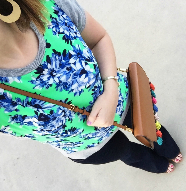 spring style, rebecca minkoff bag, flare jeans